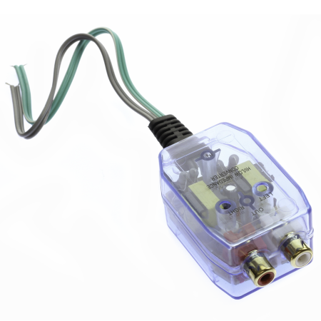 hi low line out converter speaker to rca adjustable signal. Black Bedroom Furniture Sets. Home Design Ideas