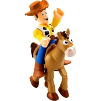 Fisher Price Toy Story 3 Imaginext Woody with Bullseye 3 Figure Set