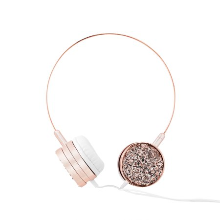 CuTech Druzy Stone Wired Headphones