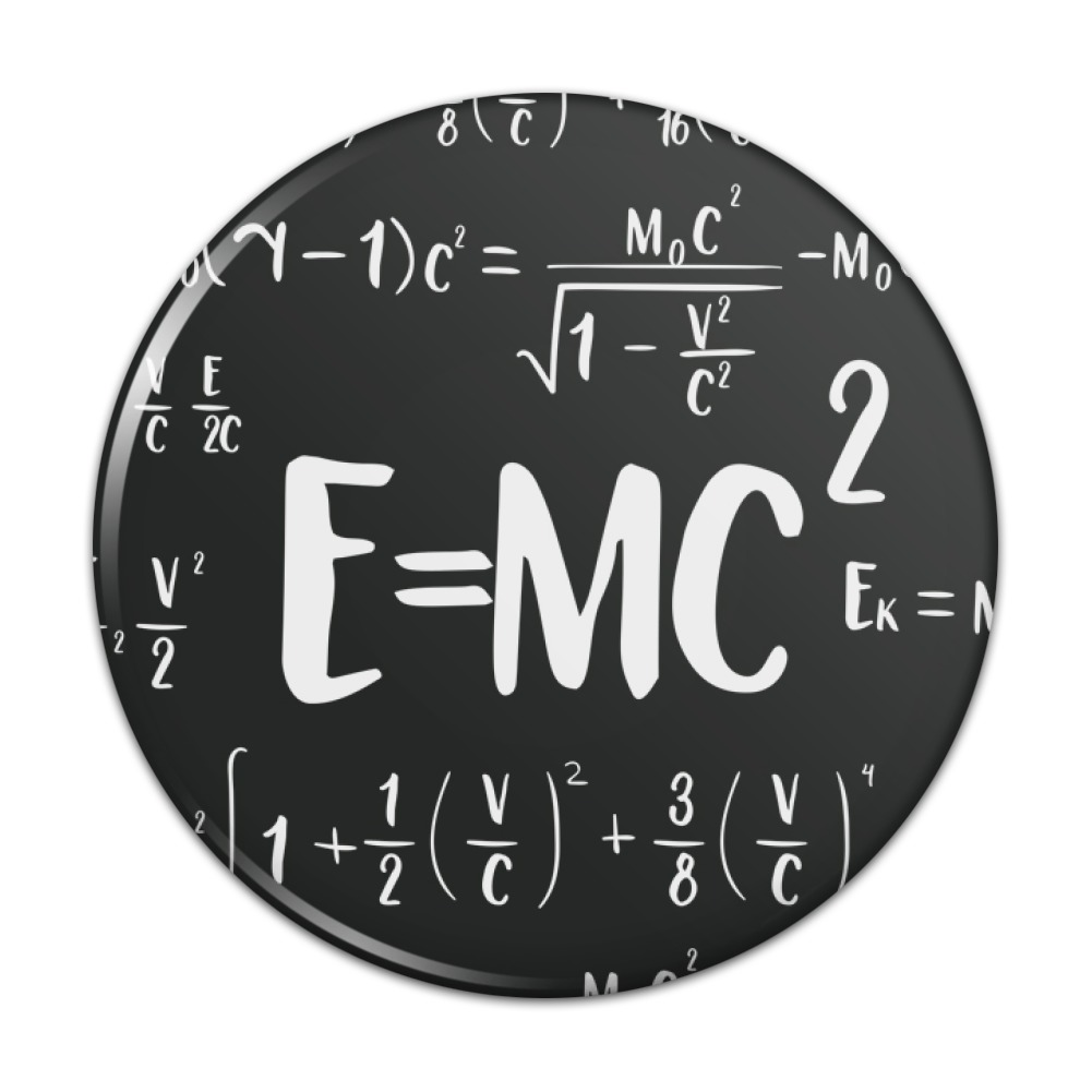 EINSTEIN ALBERT Metal Pin Badge Buy 2 We Send Three Of These