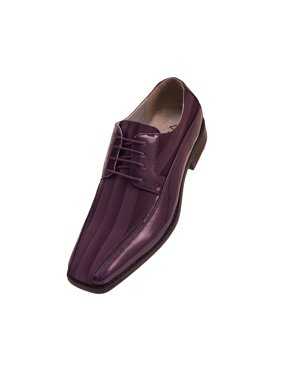 9b44327b6777b Purple Mens Dress Shoes - Walmart.com