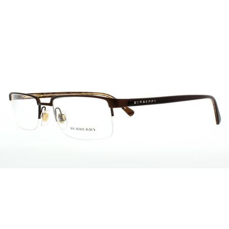 99dd20767c6 BURBERRY Eyeglasses BE1006 1012 Matte Brown 52MM -  www.artofmikemignola.com. BURBERRY Eyeglasses BE 2195 3464 Matte Black ...