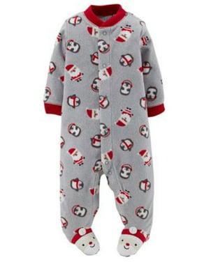 bdd7e55d5a49 Baby Boys One-piece Pajamas - Walmart.com