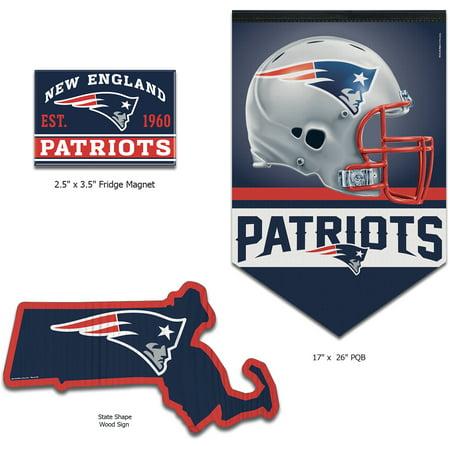 New England Patriots Gift Ideas (New England Patriots WinCraft Home Goods Gift Set - No)