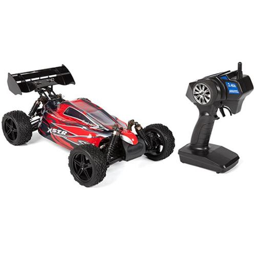 Microgear EC10331-Red 2. 4 Ghz 4WD Electric Brushless Rc Racing car RTR off-road Buggy