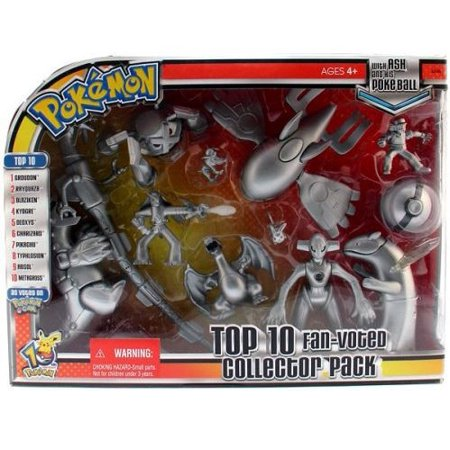 Pokemon Top 10 Fan Voted Collector Pack Action Figure