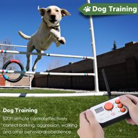 Dog Fence & Rechargeable Dog Training System 2 in 1 Kit with Training Collar, 2 in 1 Dog Training System, Dog Fence