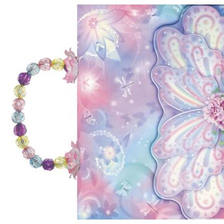 Compact Kids Bible-ICB-Glitter Wings Beaded Jeweled Handle