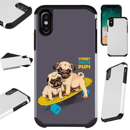 iphone xs case pug