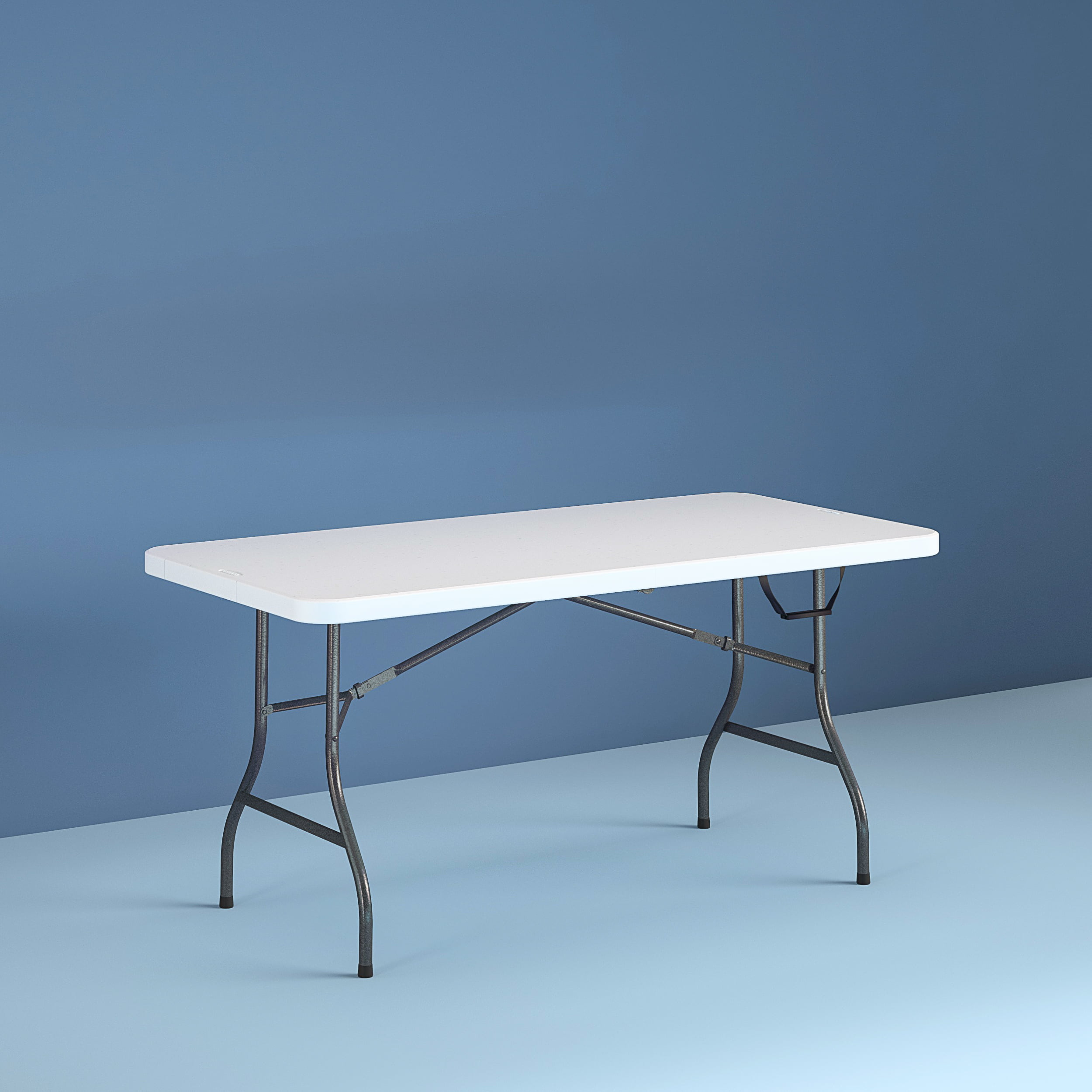 - Cosco 6 Foot Centerfold Folding Table, White - Walmart.com