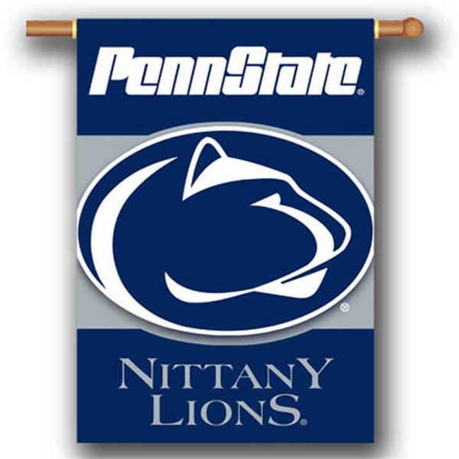 BSI PRODUCTS 96506 Penn State Nittany Lions 2-Sided 28 inch X 40 inch Banner with  Pole Sleeve