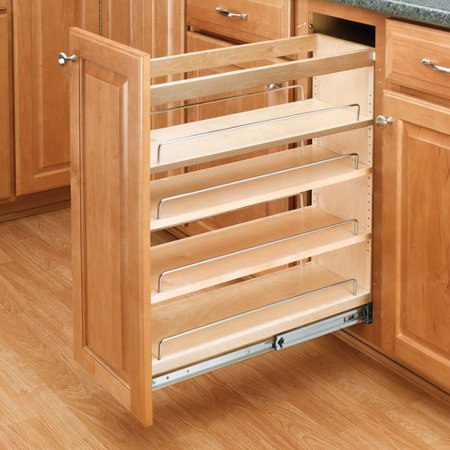 Rev-A-Shelf 8 Base Cabinet Organizer Pull Out Pantry