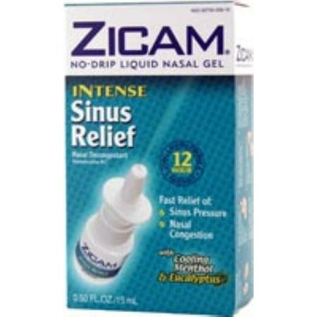 Zicam intenso líquido nasal intenso Gel 45 ml dos Frascos