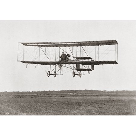 Henri Farman Winning The Grand Prix Of Two Thousand Pounds For The Longest Flight Of 112 Miles In A Farman Iii Biplane At The Grande Semaine Daviation De La Champagne - Champagne At Walmart