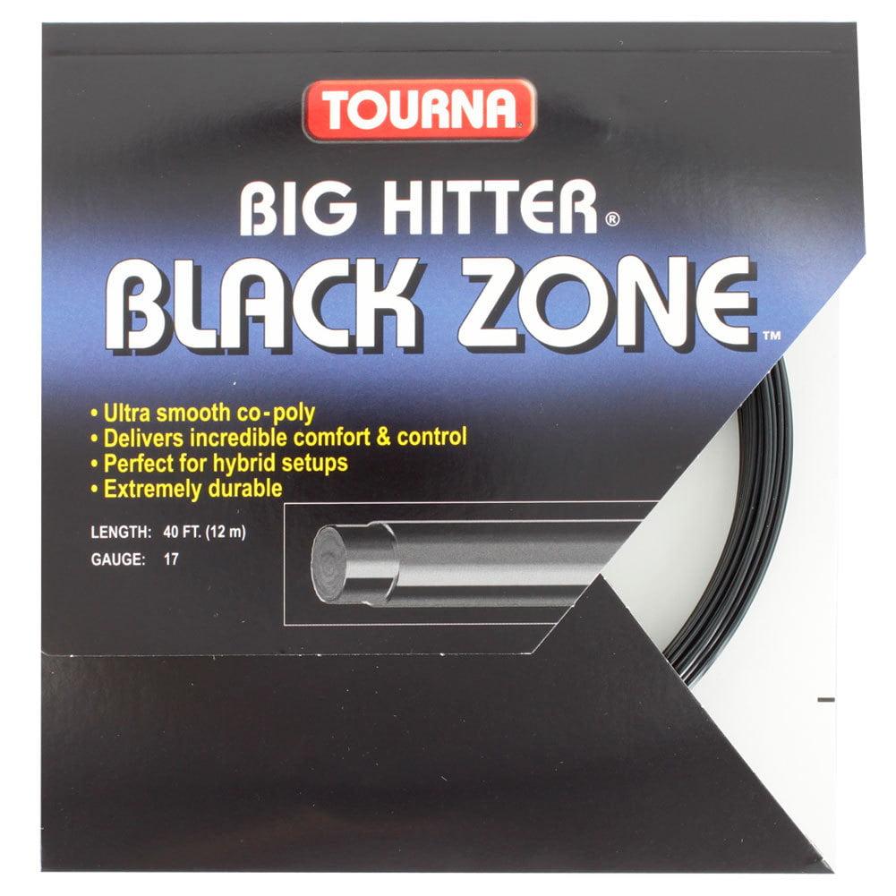 Big Hitter Black Zone 17G Tennis String by TOURNA