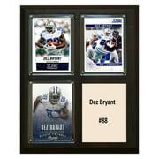 C&I Collectables NFL 8x10 Dez Bryant Dallas Cowboys 3-Card Plaque
