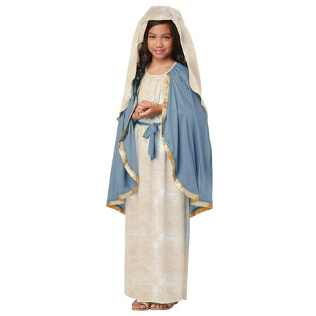 Child Girl The Virgin Mary Costume by California Costumes 00438 (Mary Poppins Kids Costume)