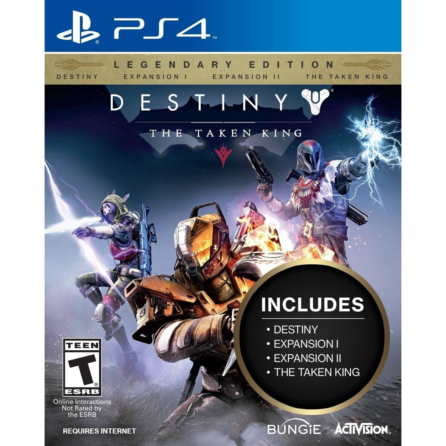 Destiny: The Taken King Legendary Edition, Activision, PlayStation 4, 047875874428