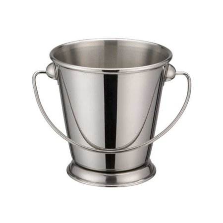 Winco DDSA-105S, 3-1/2-Inch Dia Stainless Steel Mini Serving Pail with Handle