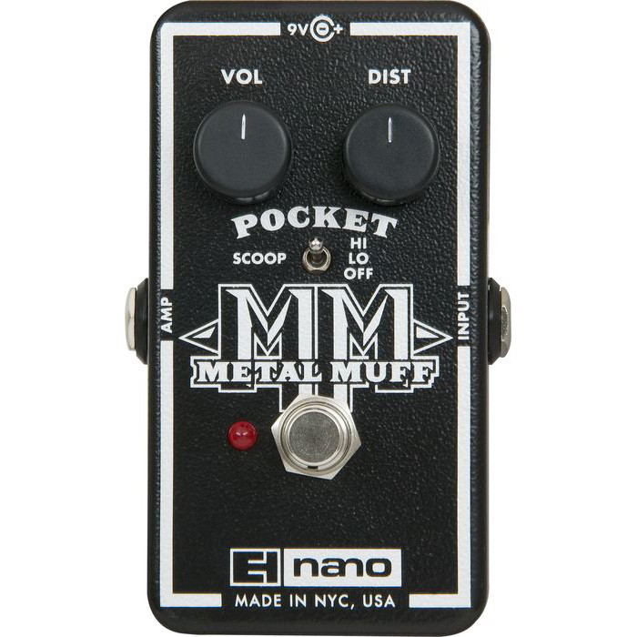 Electro-Harmonix Nano Pocket Metal Muff Distortion