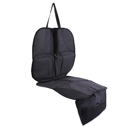 luxury black 600d polyester car seat protector child or baby auto