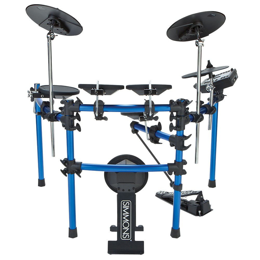 Simmons SD1000 5-Piece Electronic Drum Set by Simmons
