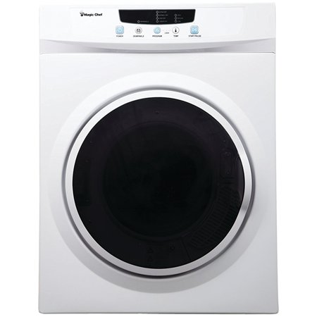 Magic Chef 3.5 cu ft Compact Electric Dryer, White