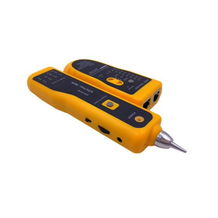 Network LAN Ethernet Telephone Cable Toner Wire Tracker Tracking System & Tester ()