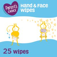 Parent's Choice Hand & Face Wipes, 2 Count