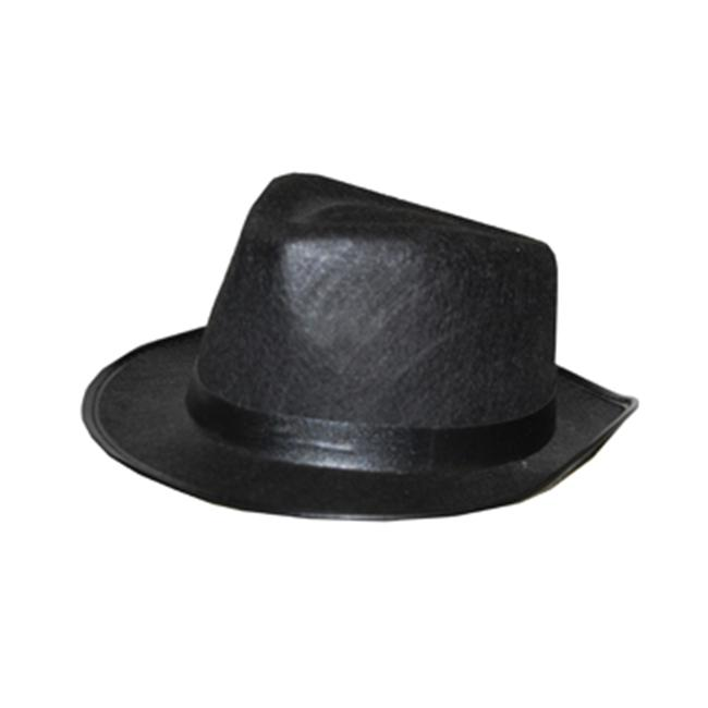 Costumes For All Occasions Ru49909 Fedora Child Black - image 1 of 1
