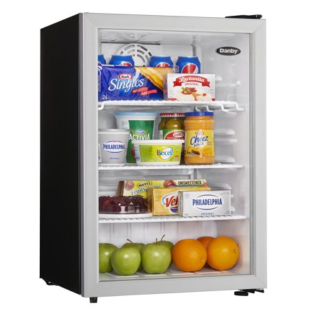 - Danby 2.6 cu. ft. Glass Door Commercial Refrigerator