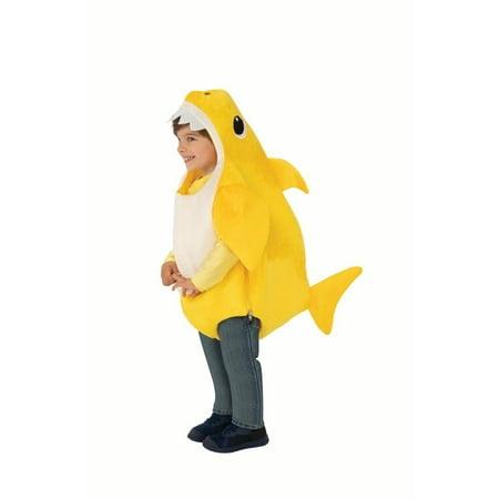 Baby Elvis Costumes Halloween (Rubie's Baby Shark Toddler Halloween)