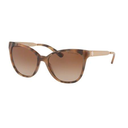 Mk 275 Marble (Sunglasses Michael Kors MK 2058 331113 BROWN MARBLE )
