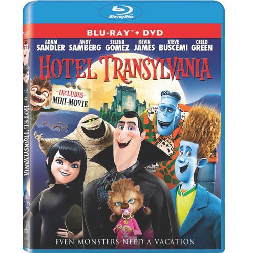 Hotel Transylvania (Blu-ray   DVD) (With INSTAWATCH) (Widescreen)