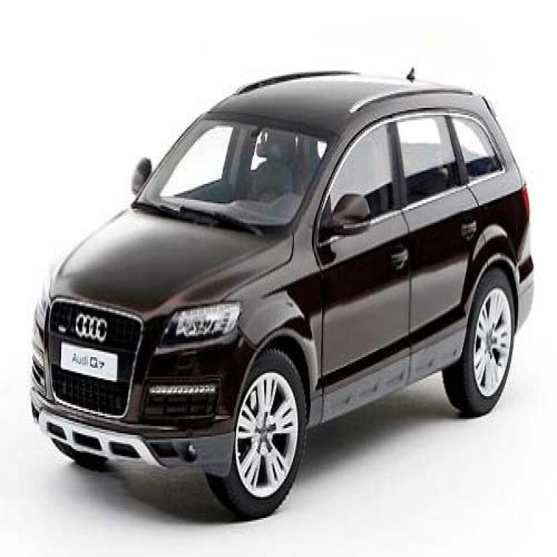 Audi Q7 Teak Brown 1/18 By Kyosho 09222