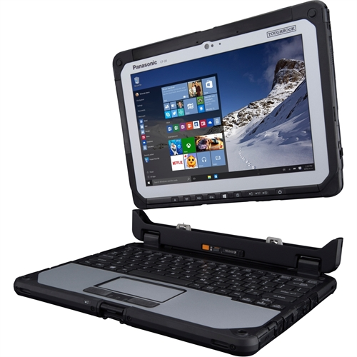 "Panasonic Toughbook 10.1"" (In-plane Switching (IPS) Technology) 2 in 1 Netbook - Intel Core M (6th Gen) m5-6Y57"