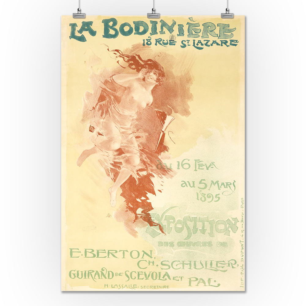 beautiful 1894 OLD FASHION performing arts poster 24x36 great for home decor