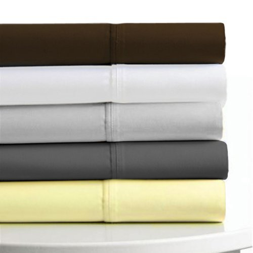 Tribeca Living 600 TC 100% Egyptian Cotton Sateen Deep Pocket Sheet Set