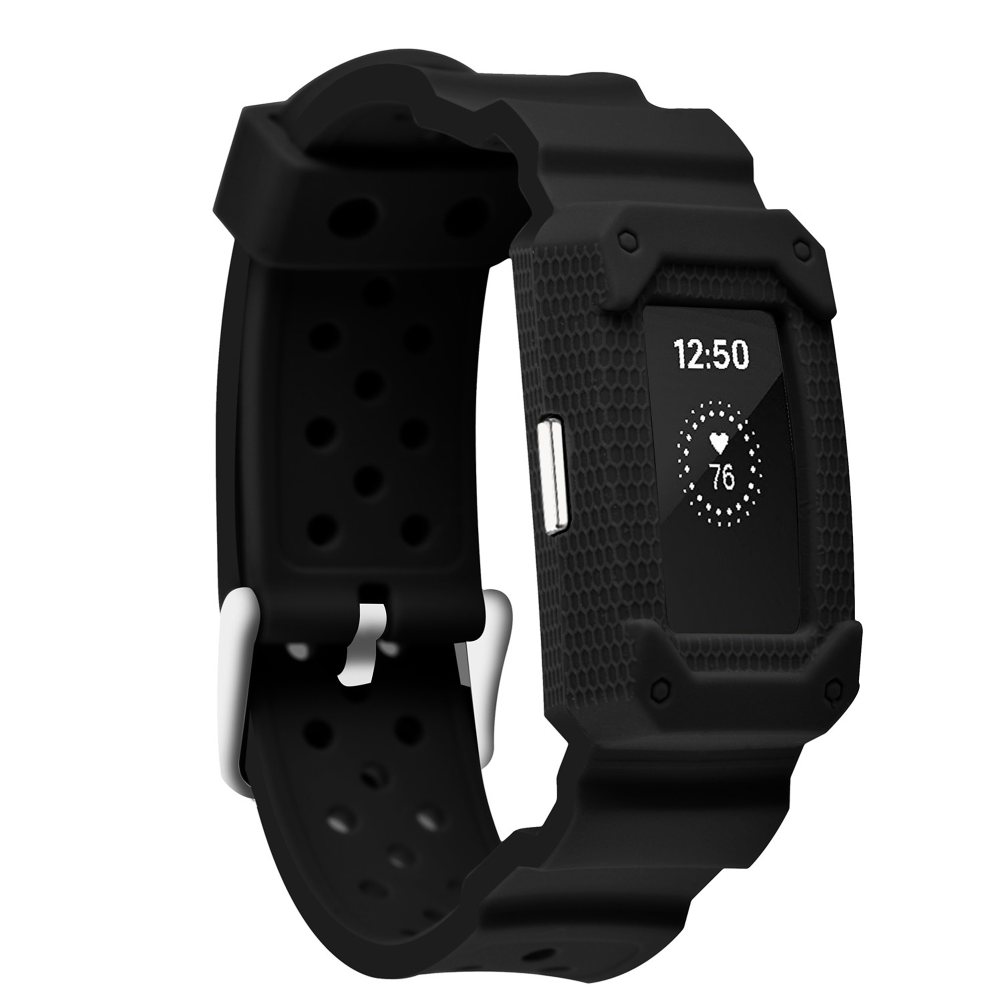 For Fitbit Charge 2 Band , Soft Silicone Breathable Fashion Sport Strap for Fitbit