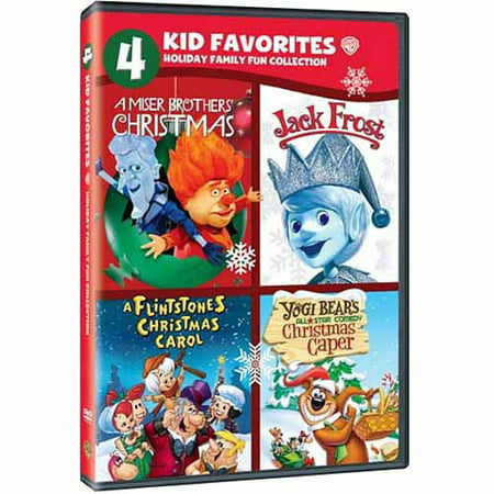 A Miser Brothers Christmas.4 Kid Favorites Holiday Family Fun Collection A Miser Brothers Christmas Jack Frost A Flintsontes Christmas Carol Yogi Bear S All Star