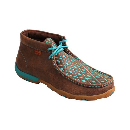 Women's Twisted X Boots Driving Moc Chukka