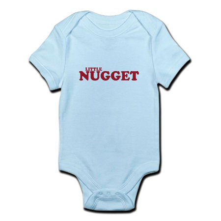 CafePress - Little Nugget -- Infant Bodysuit - Baby Light Bodysuit