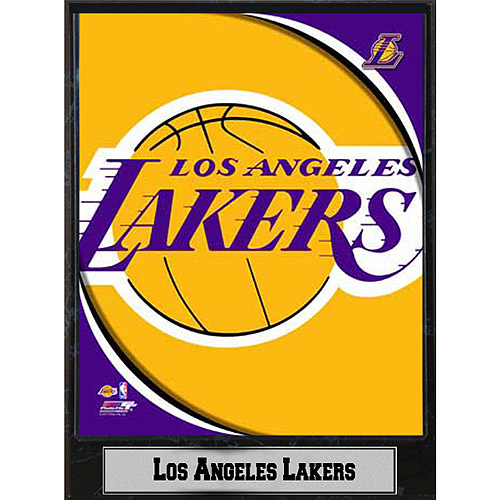 NBA Los Angeles Lakers Photo Plaque, 9x12