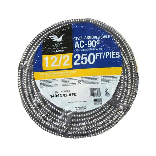 Afc Cable Systems 1404N42-AFC 250-Ft. 12/2 ACT Armored Cable