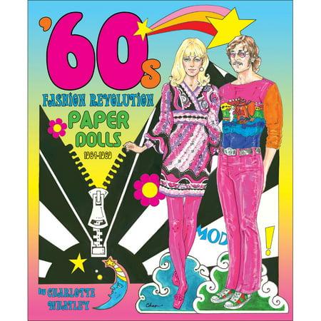 60s Fashion Revolution - 8 Clothing Plates - 2 Models - Styles 1964 - 1969