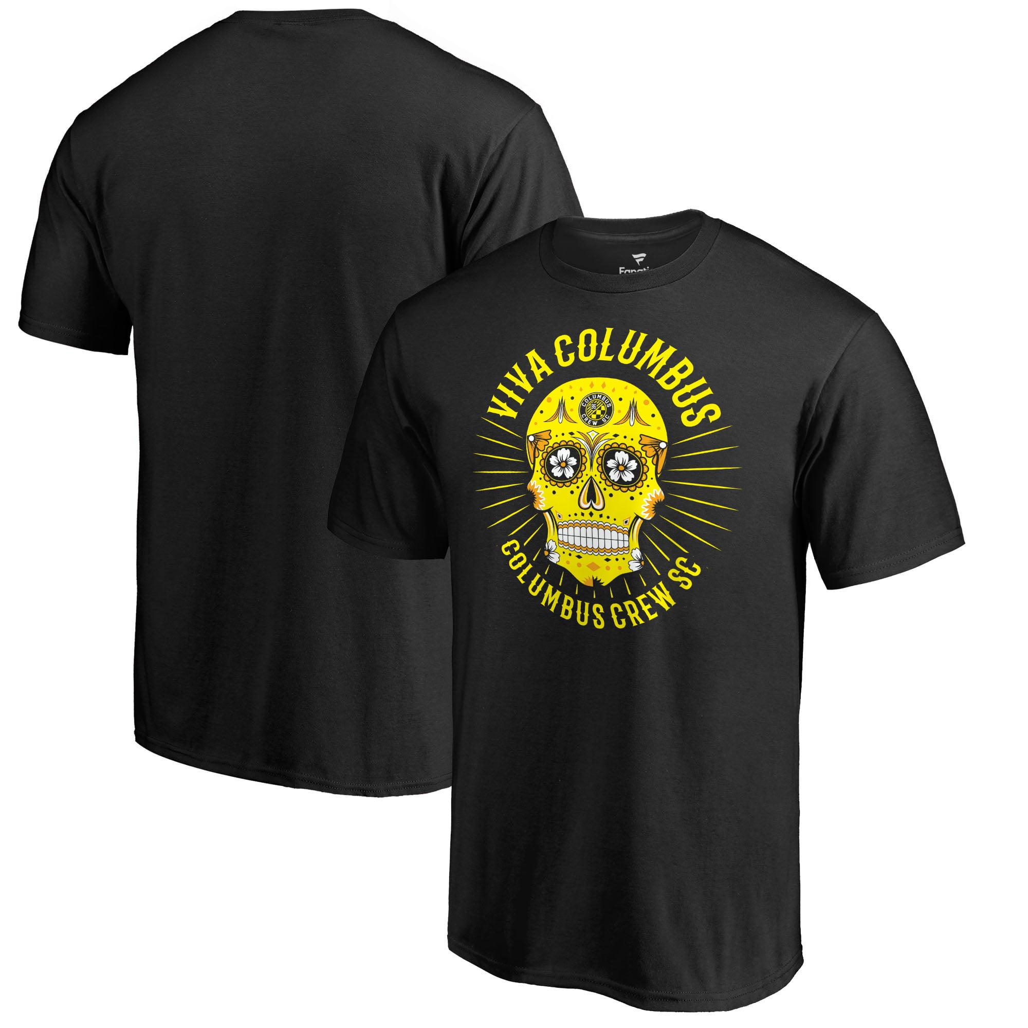 Columbus Crew SC Fanatics Branded Hispanic Heritage Viva T-Shirt T-Shirt - Black