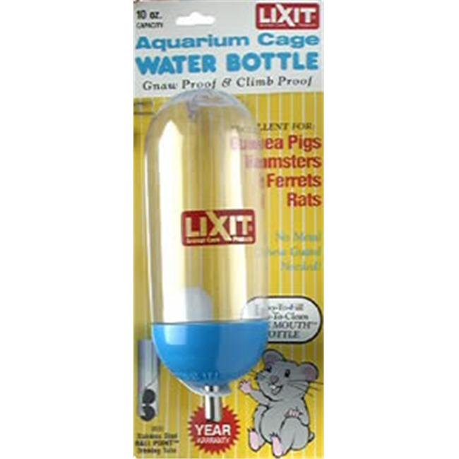 Lixit 250-00860 Lixit Aquarium Cage Water Bottle 10oz AC10