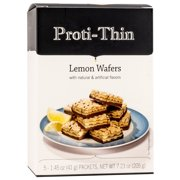 Proti-Thin - Protein Wafer Squares - Lemon - Diet Wafer Squares - Weight Loss Wafer Bars - 5 Count …