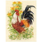 RIOLIS® Rooster Counted Cross-Stitch Kit