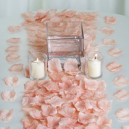 Efavormart 500pcs Artifical Real Looking Rose Petals for Wedding Aisle Party Favor Jewelry Candy Sheer Flower Decoration Rose Petals Aisle